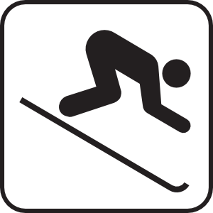 Skier Clipart - ClipArt Best