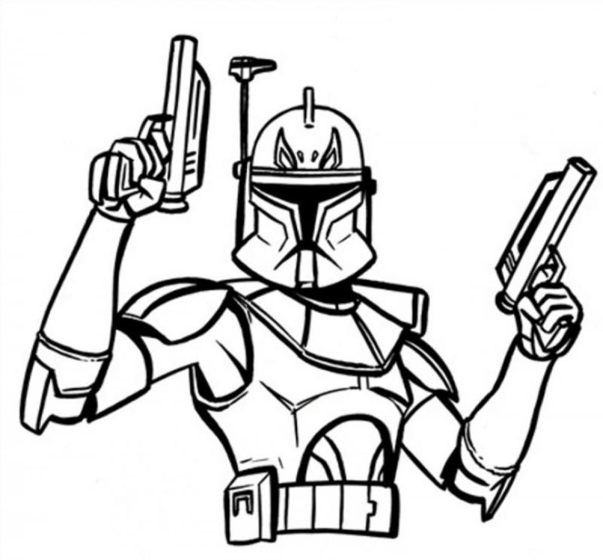 Darth Vader mask 1 Coloring Page - Free Coloring Pages Online | 1114x1200