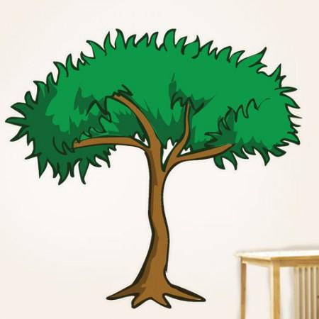 Rainforest Trees Carto...