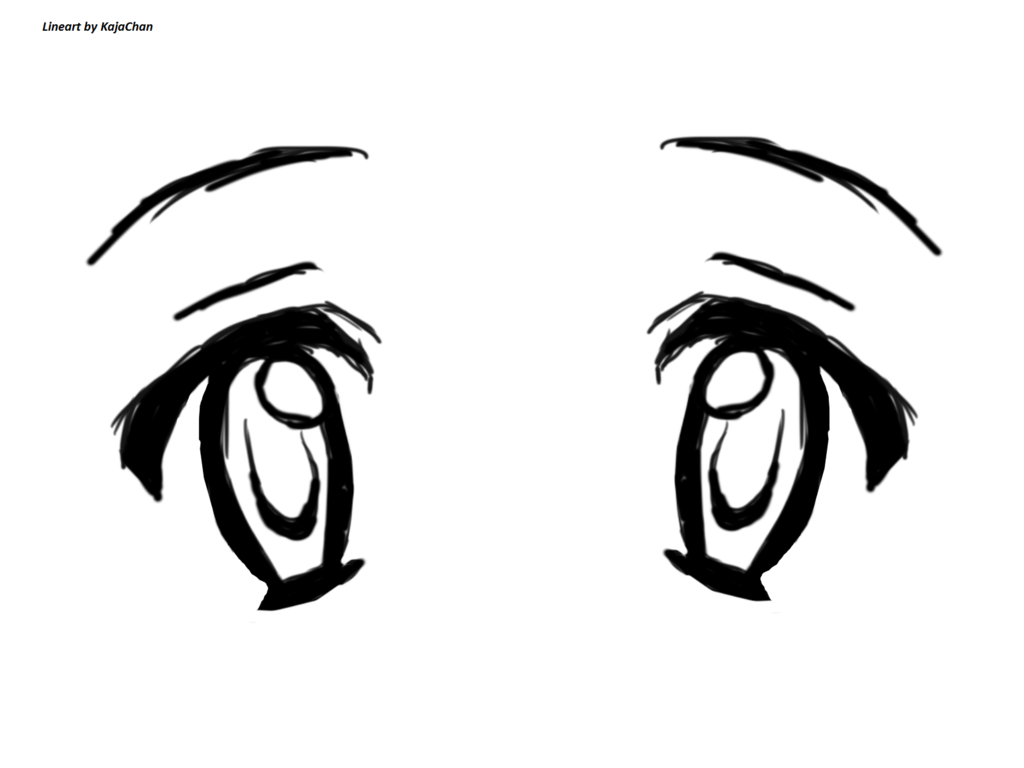 how to draw comic eyes