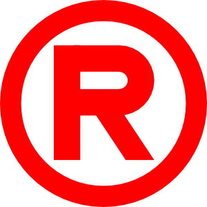 registered logo vector clipart best