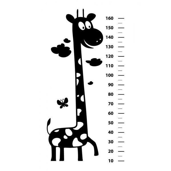 Wall Sticker for Kids 87- Ruler Height Chart - STENCILS DESIGN