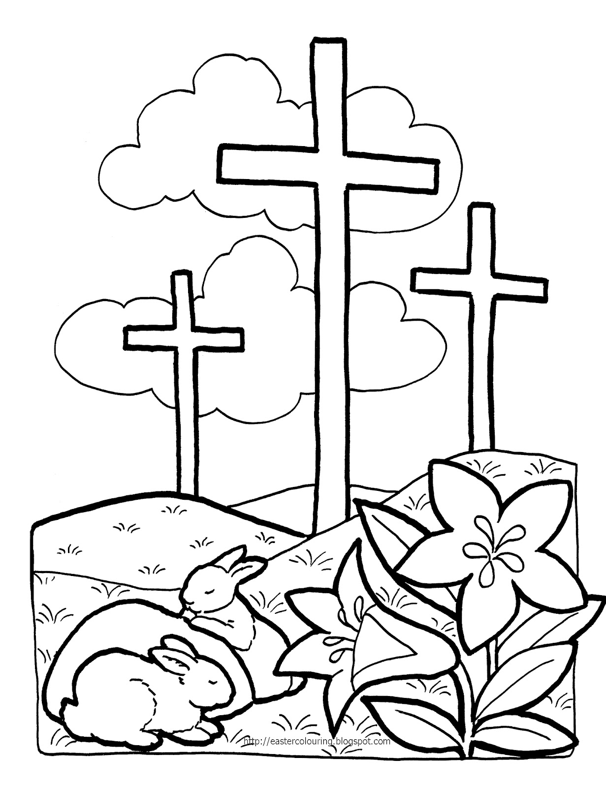 Black And White Religious Clip Art Easter Sunday - ClipArt ... Religious Easter Clip Art Black And White