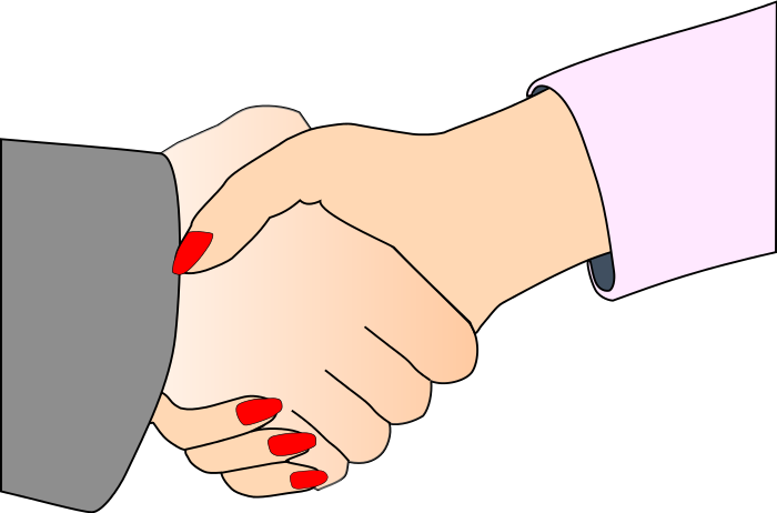 Shaking Hands Clip Art - ClipArt Best