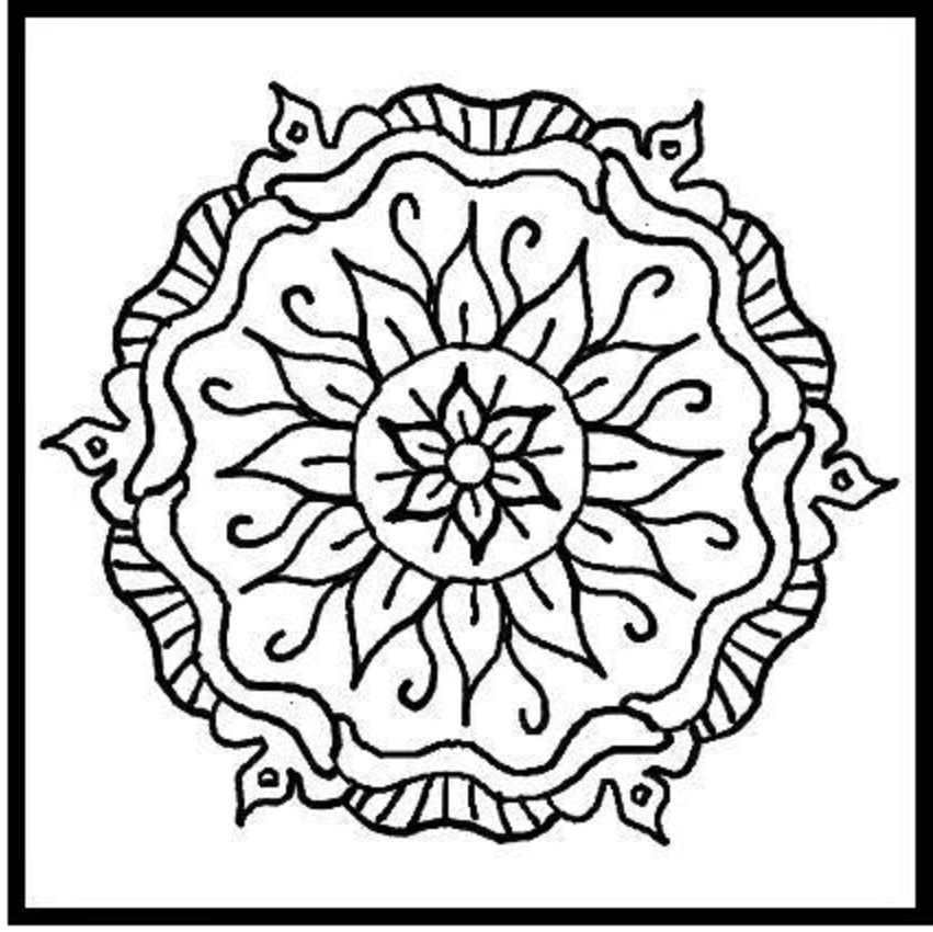 coloring pages designs printable - photo#16