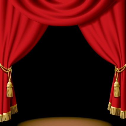 Stage curtains clipart best - Images of curtans ...