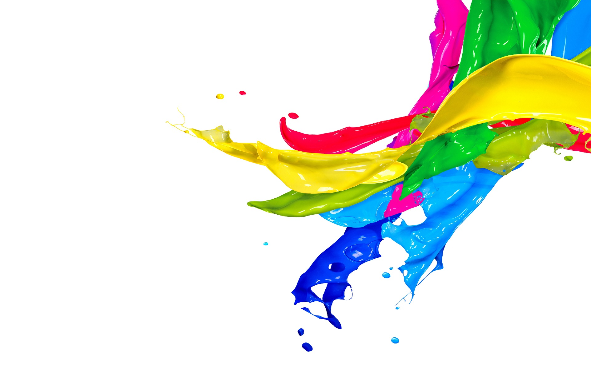 Colorful Paint Splash