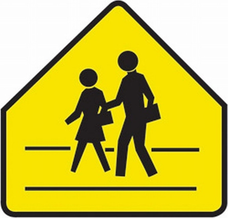 Child Crossing Sign - ClipArt Best