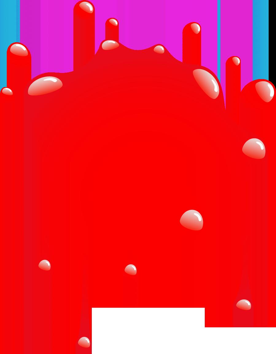 Red Paintball Splatter Logo - - 146.7KB
