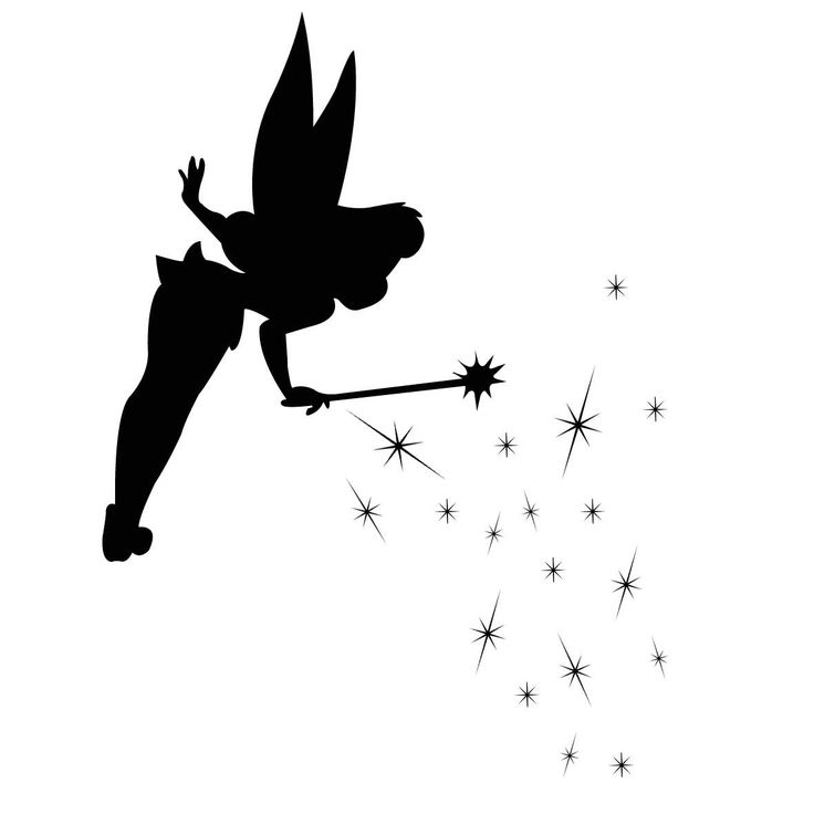 1000  images about fairy silhouette