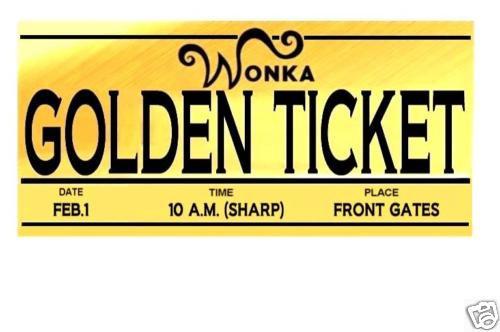 Willy Wonka Golden Ticket Template - ClipArt Best