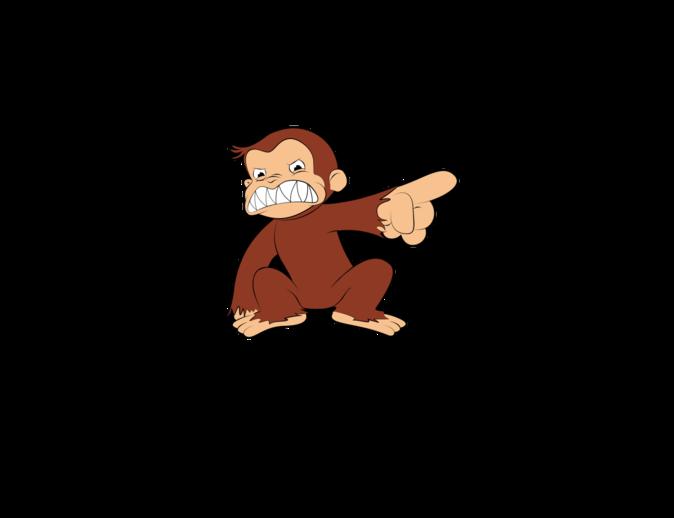 MySoti - Olechka - 'Evil Monkey Curious George shirt'- Tees ...