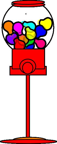 bubble gum machine clip
