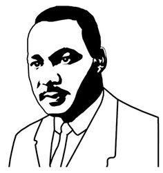 Martin L King Clip Art