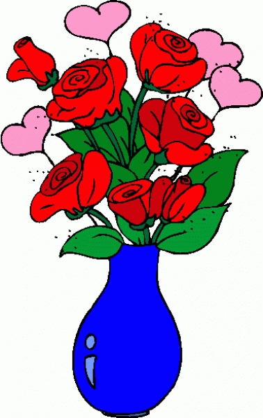 valentines day roses clip artroses hearts 2 clipart