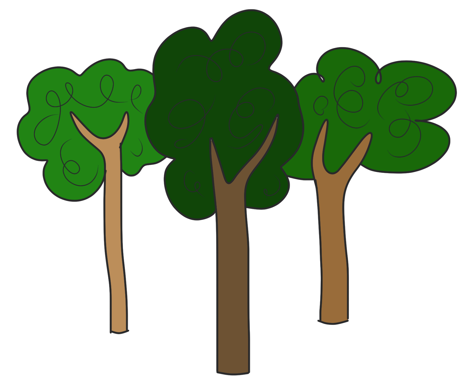 Trees Clipart Best