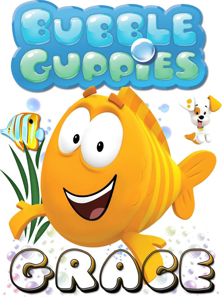 Bubble guppies orange fish clipart best for Bubble guppies fish