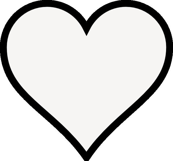 Fancy Heart Outline - ClipArt Best