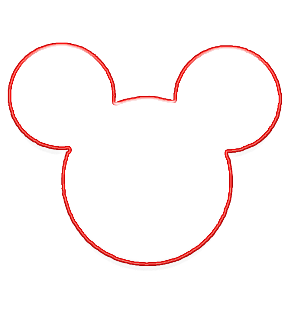 Best Photos of Mickey Mouse Head Outline Printable - Mickey Mouse ...