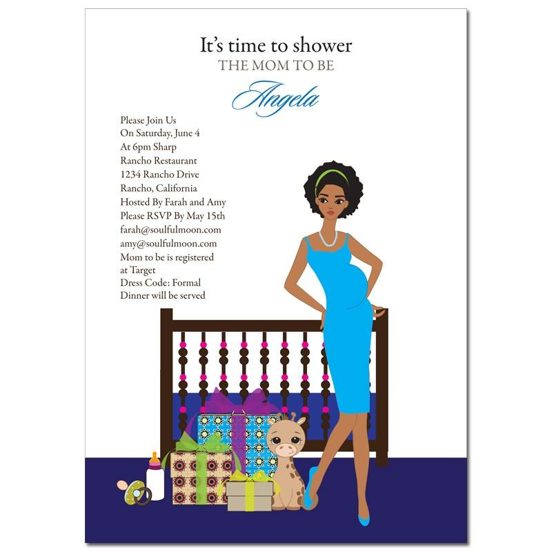 African America Baby Shower Clip Art - ClipArt Best