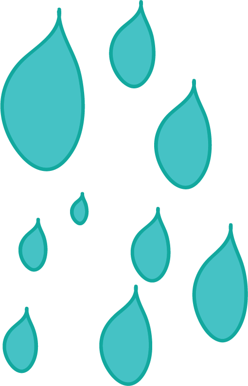 raindrops cartoon clipart best