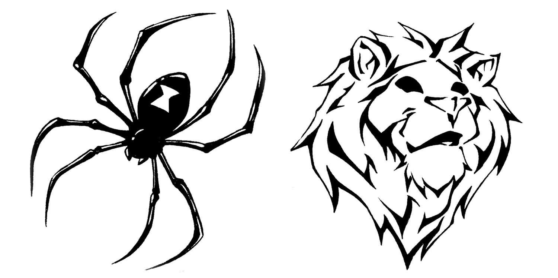 Tribal Spider Logo - ClipArt Best