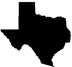 Silhouette Texas Texas Silouette ClipArt Best