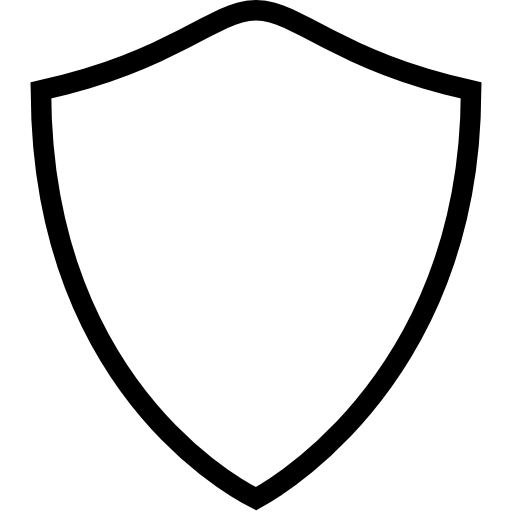 Blank Black Shield - ClipArt Best