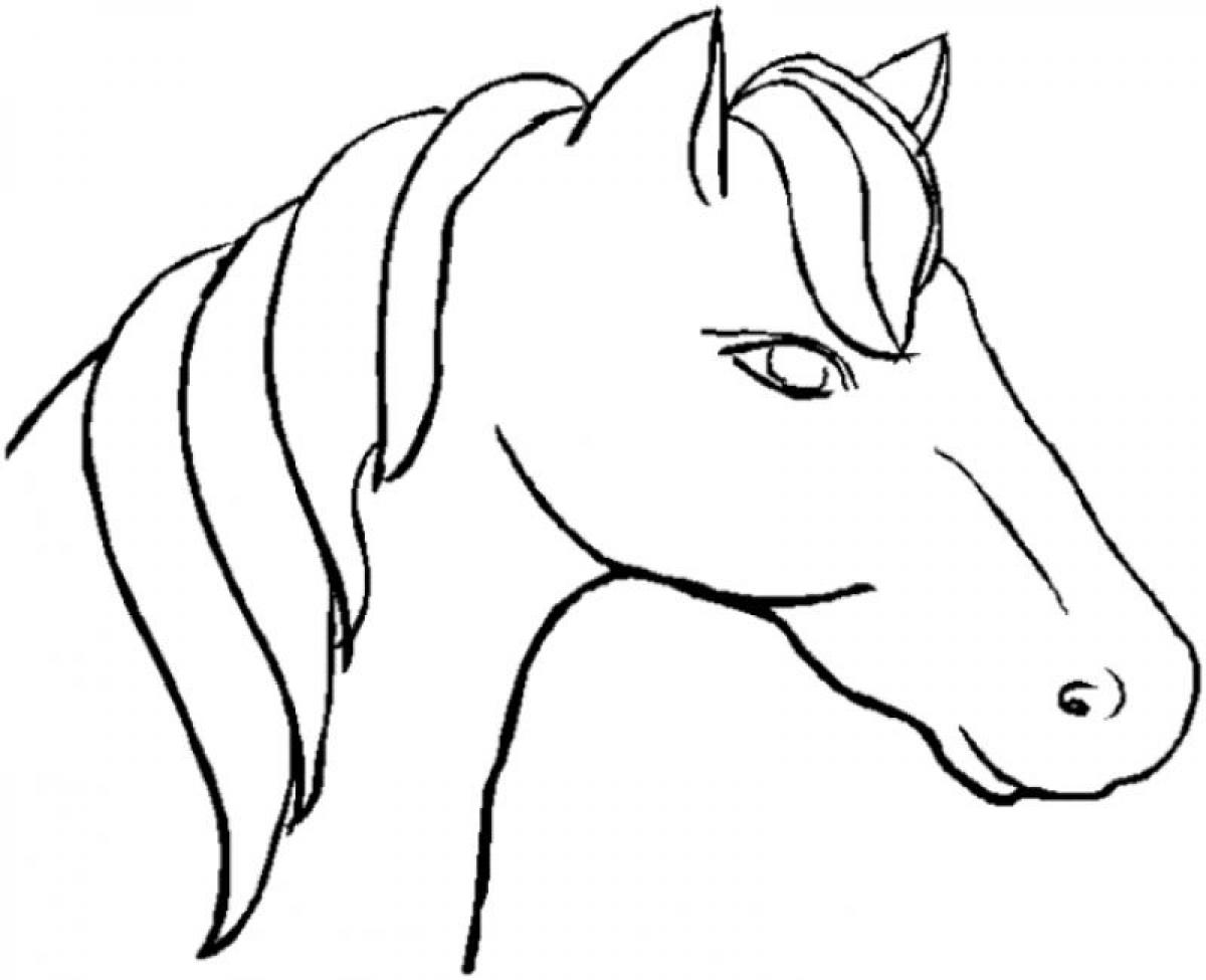 Coloring Pages Head Coloring Page unicorn head coloring pages futpal com futpal