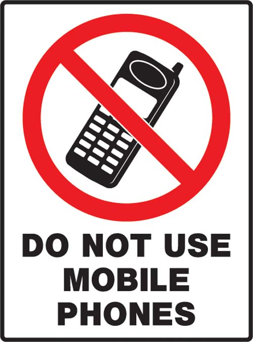 should the use of mobile phones