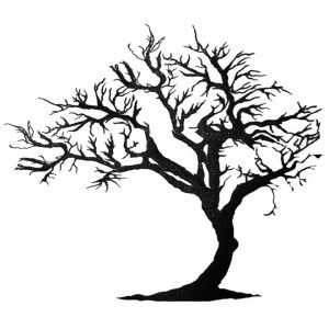 Twisted Dead Tree - ClipArt Best