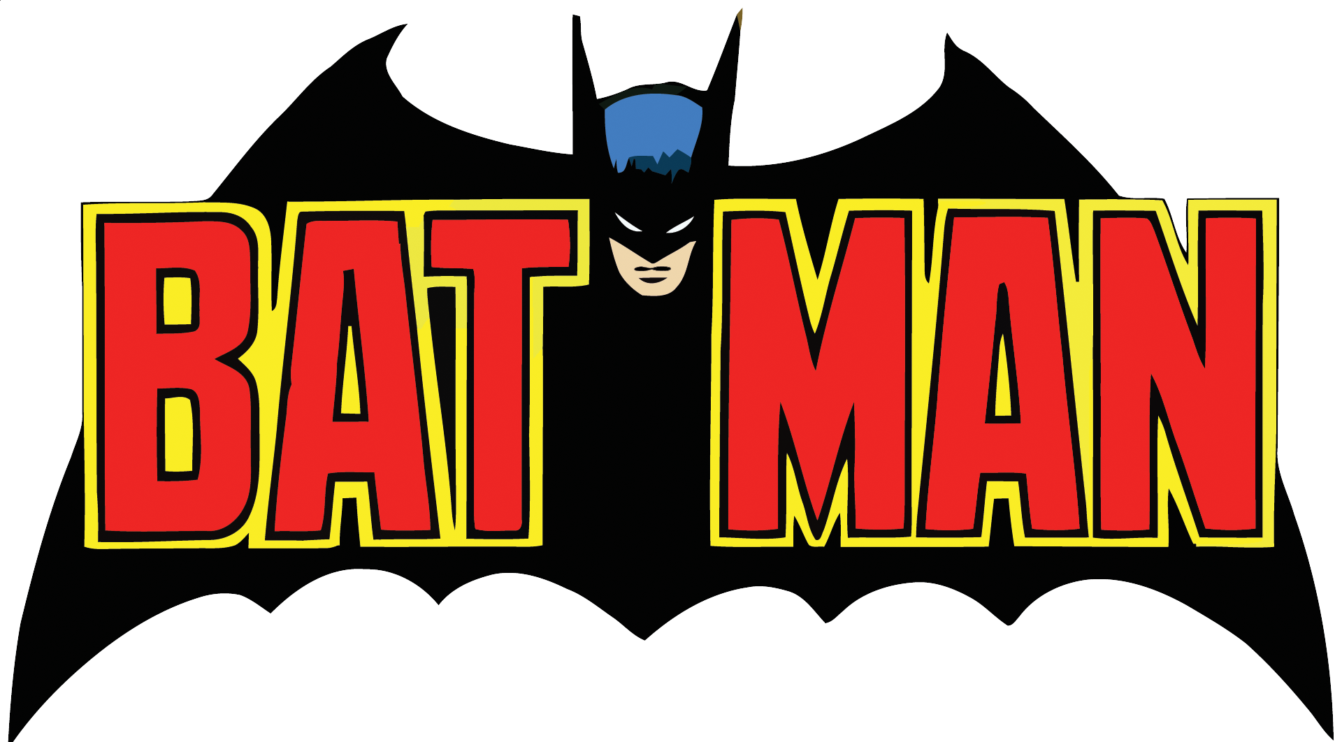 70's Batman Logo (Vector) - ClipArt Best - ClipArt Best