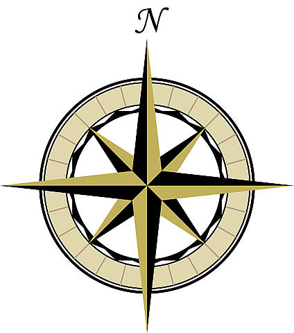 Treasure Map Compass - ClipArt Best