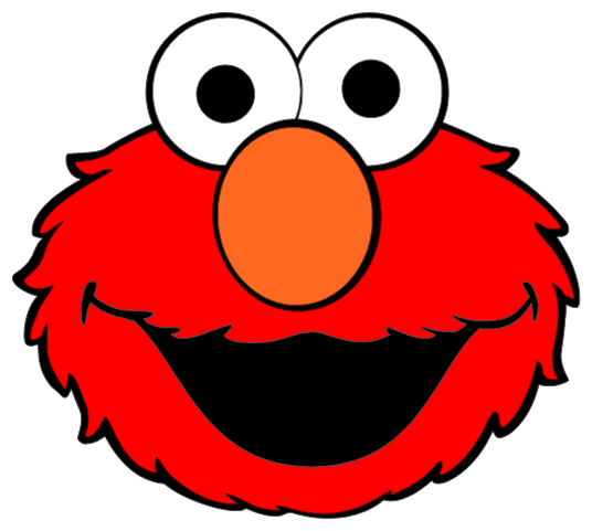 Elmo Face Clipart Elmo Head Clip Art