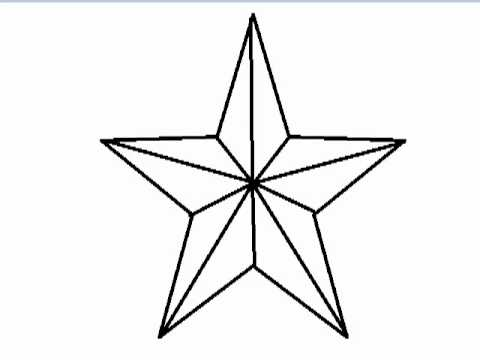 Star Outline Drawing Trible Playlist · Outline Star