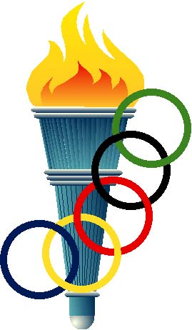 olympic torch clip art clipart best Winter Olympics Graphics Winter Olympic Sports