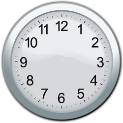 Analog Clock | The Oxford Math Center - ClipArt Best ...