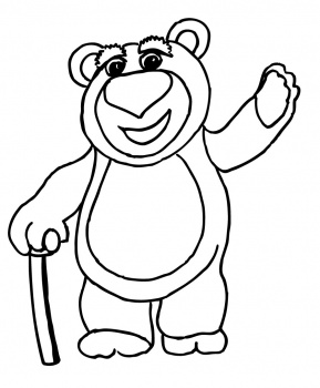 Gummy Bear Coloring Pages Clipart Best