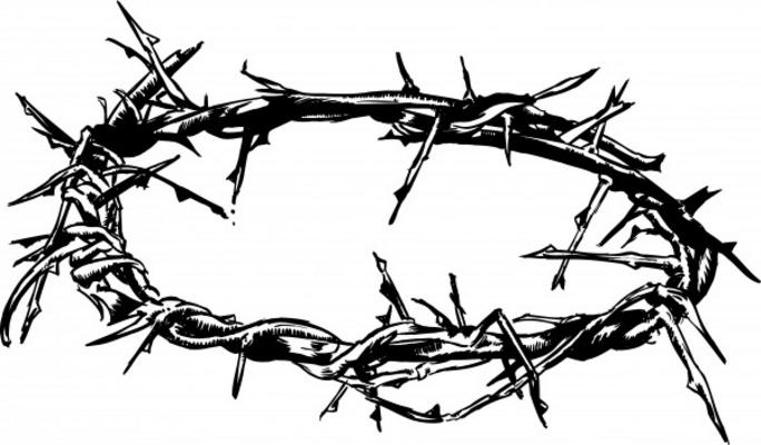 Crown Of Thorns Illustration