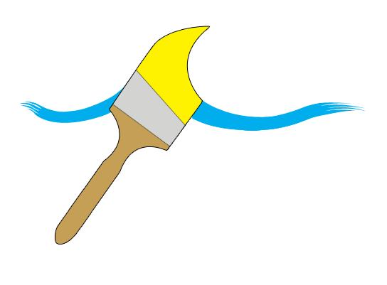 Paint Brush Logo Clipart Best