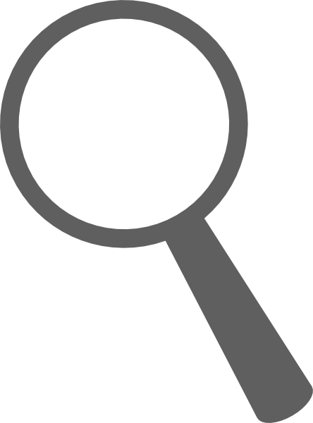clipart magnifying glass detective - photo #44