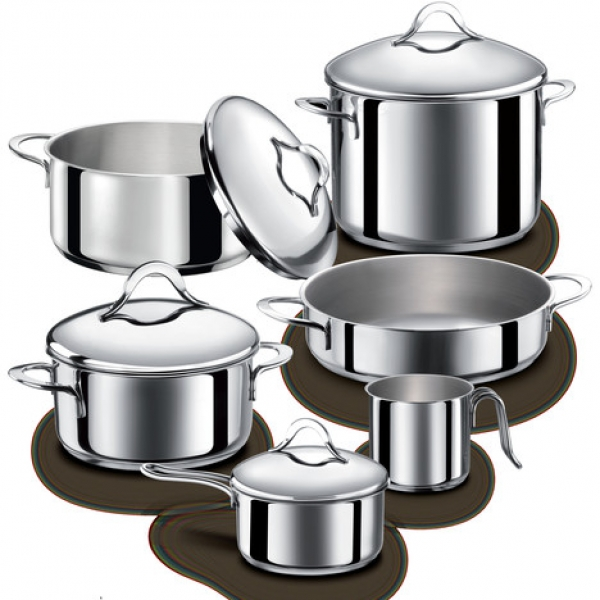 Pictures of pots and pans clipart best for Art cuisine cookware