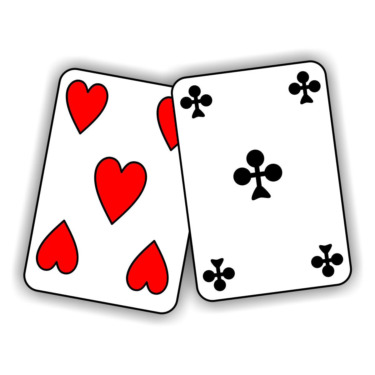 Image of playing cards clipart best for Playing cards coloring pages