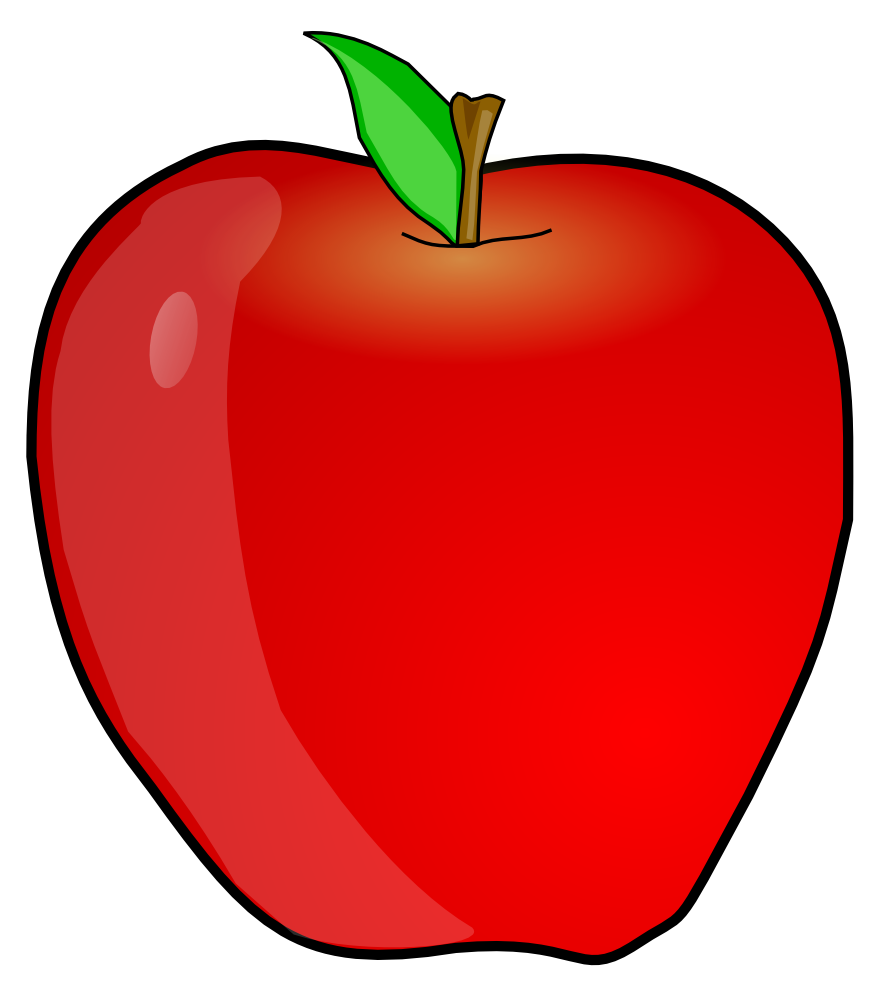 Red Apple Clip Art - ClipArt Best