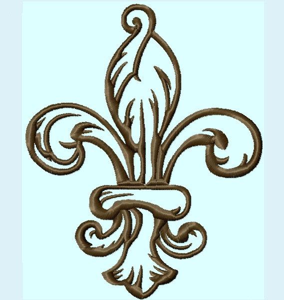 Design fleur de lis clipart best for Flur design