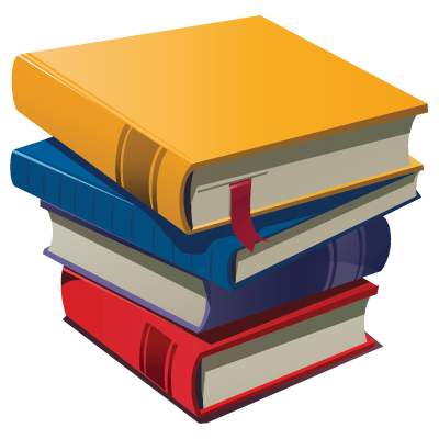 Books Cartoon Png Cartoon Stack of Books
