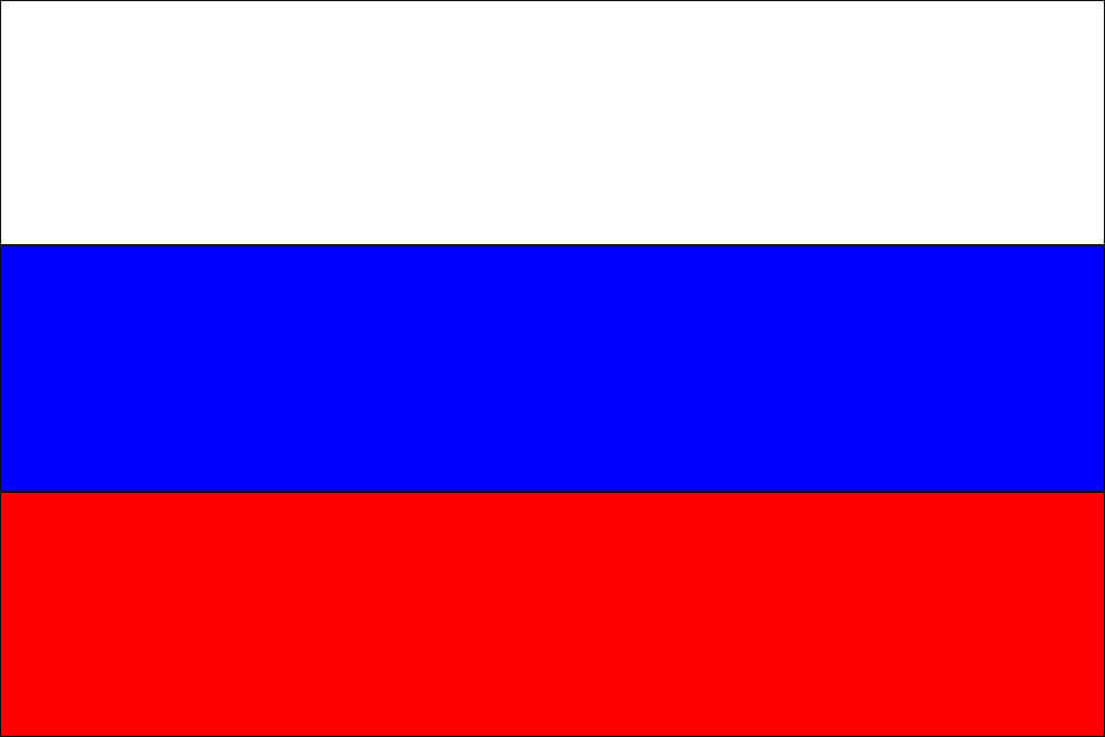 What do the colors on the Russian flag represent