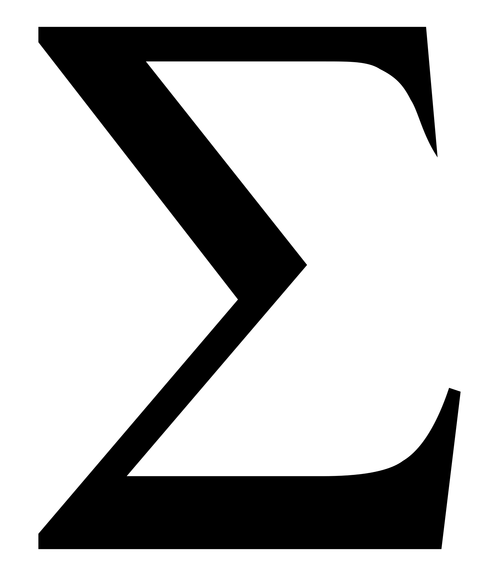 Greek Letter G