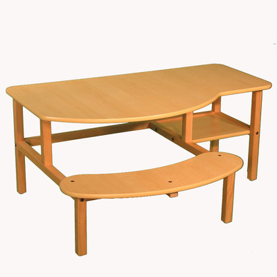 Wild Zoo Desks | Wayfair - Pine Desk, Kids Computer Desk, Desk for Two