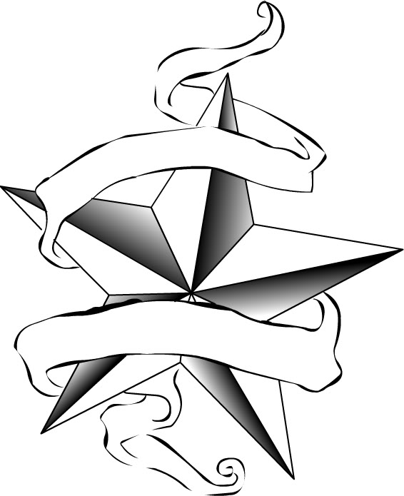 star drawings for tattoos clipart best. Black Bedroom Furniture Sets. Home Design Ideas